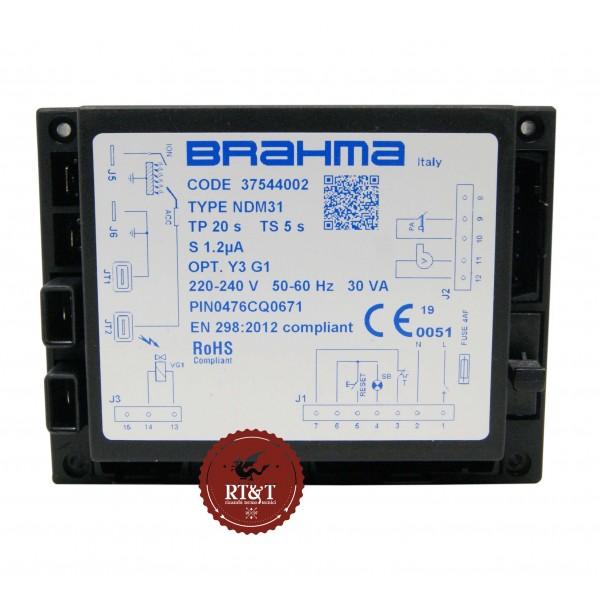 Scheda accensione Brahma NDM31 37544002