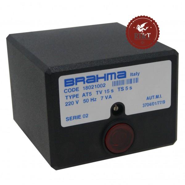 Scheda apparecchiatura accensione Brahma AT5 18021002