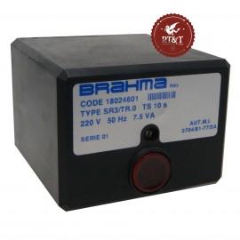 Scheda apparecchiatura accensione Brahma SR3/TR.0 18024601
