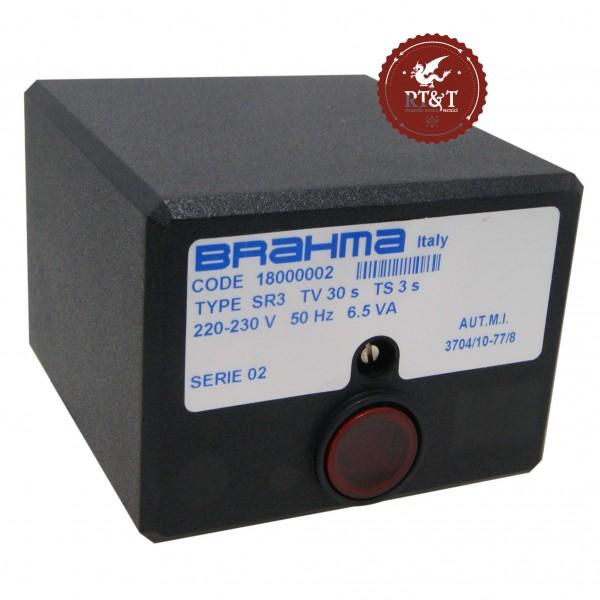 Scheda apparecchiatura accensione Brahma SR3 18000002