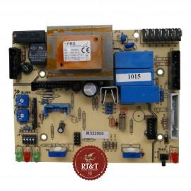 Scheda M322000 caldaia Savio Biasi Acta, Acta Piu, Contract, Micronew evo, Super evo, Super evo due BI1855100