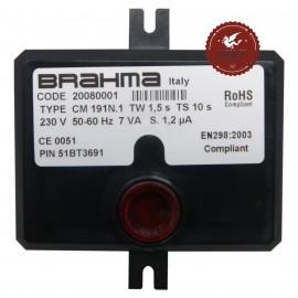 Scheda apparecchiatura accensione Brahma CM191N.1 20080001