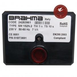 Scheda apparecchiatura accensione Brahma SM152N.2 24283961