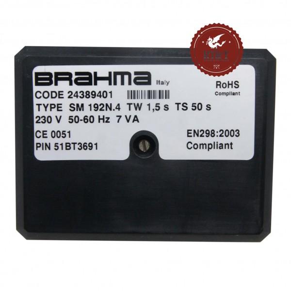 Scheda apparecchiatura accensione Brahma SM192N.4 24389401