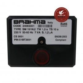 Scheda accensione apparecchiatura BRAHMA SM191N.2 24083301