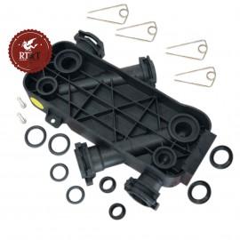 Parte inferiore scambiatore Junkers Ceraclass Excellence, Cerapur Acu, Cerapur Balcony, Cerapur Smart, Cerastar 87160118190