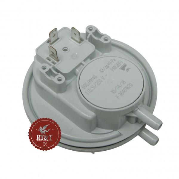 Pressostato aria Huba (36401620) caldaia Ferroli 43-8 Pa per DOMIcompact B, DOMIcondens 39800140