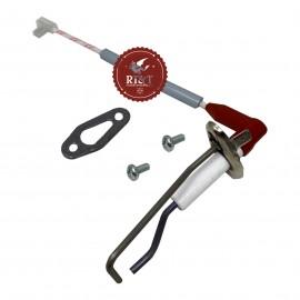 Elettrodo accensione caldaia Ecoflam Ecoblu 60000868-01, ex 60000868