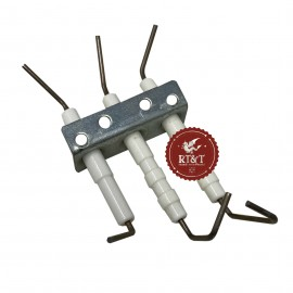 Elettrodo scaldabagno Vaillant MAG 275/10 XEW, MAG-turbo 350/9 EW, MAG premium turbo 19/2, MAG premium turbo 24/2 043121