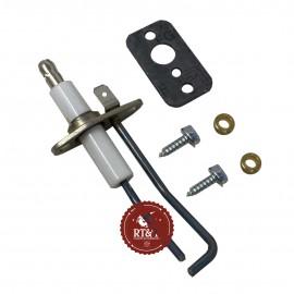 Elettrodo accensione caldaia Unical Alkon 09, Alkon 90, Alkon B60, Alkon Clipper, Alkon Inc, Alkon Slim 95000752