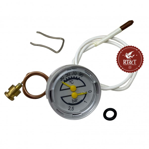 Termomanometro Termoidrometro caldaia Junkers Eurosmart ZWA 24, Eurosmart ZWA 28 87161423950